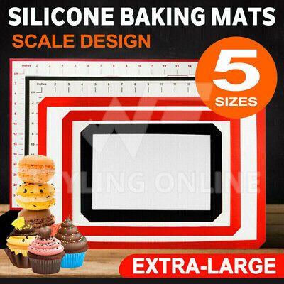 3Pcs Silpat Non-Stick Silicone Baking Mat Emarle Silicon Bakeware Worldwide
