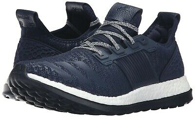 New Men's Adidas PureBoost ZG Running Shoes Size 8.5-13 Navy/White BA8454