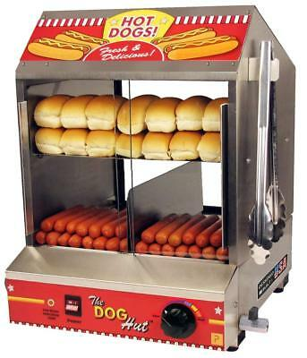 Paragon 8020 Hot Dog Hut Steamer Merchandiser for Professional Concessionaires &