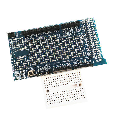 V3 Prototype of Mega 2560/1280 ProtoShield with Breadboard 170 Fits Arduino