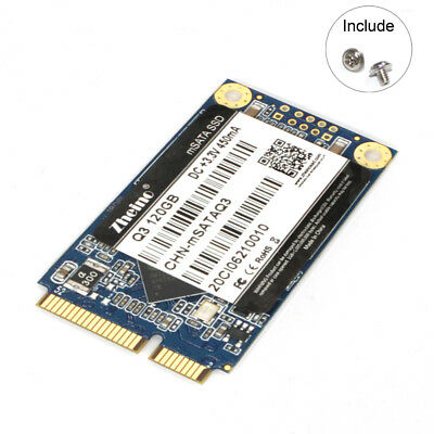 Zheino msata3 120gb SSD (3D Nand) Q3 Solid State Drive For Mini Pc and Ultrabook