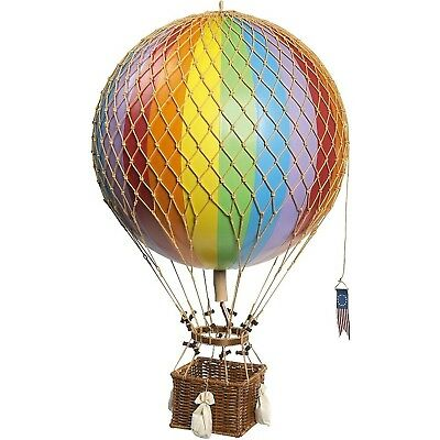 Authentic Models Light Hot Air Balloon in Rainbow New