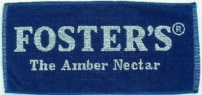 """Fosters Lager Amber Nectar Cotton Bar Towel 20"""" x 10"""" (pp) New"""