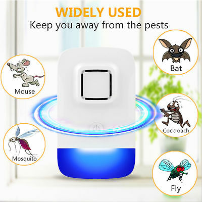 Ultrasonic PEST REJECT REPELENTE ANTI MOSQUITOS INSECTOS CUCARACHAS ROEDORES RAT