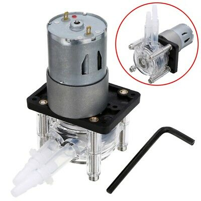 12V DC 400ml/min Peristaltic Dosing Pump Vacuum Aquarium Lab Analytical Water UK