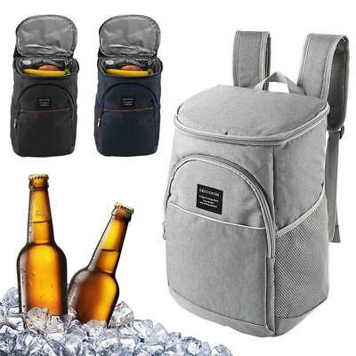 18L Insulated Cooling Backpack Cooler Picnic Camping Rucksack Beach