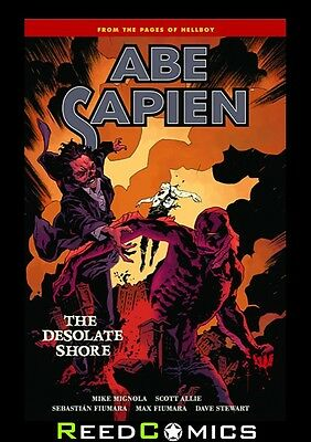 ABE SAPIEN VOLUME 8 THE DESOLATE SHORE GRAPHIC NOVEL Paperback Collects #32-36