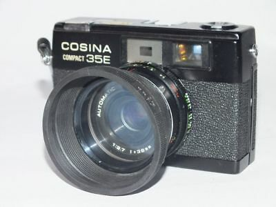 Cosina Compact 35E Sucherkamera Kamera mit Automatic Cosinon 1:2.7 38mm Optik