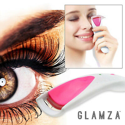 Electric Hand Held Eyelash Heated Curler Cosmetic Device Longer Curled Lashes