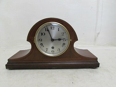 German Gebruder Peterson Westminster Chime Napoleon Hat Mantle Clock Chime Repai
