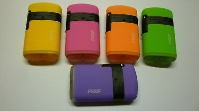Lighter Prof Windproof Double Turbo Jet Gas  Refillable  5   Colours