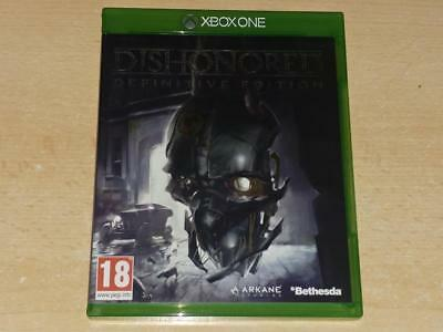 Dishonored Definitive Edition Xbox One **FREE UK POSTAGE**