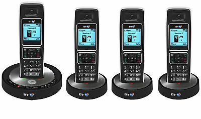 BT 6510 Quad Digital Cordless Telephone with Answering Machine & Speaker Phone