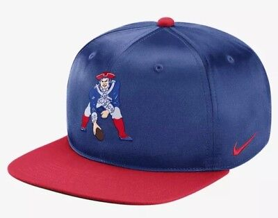 on sale 305d7 f5d6c ... best price nike nfl new england patriots pro historic satin snapback  hat 877059 495 adult 94654