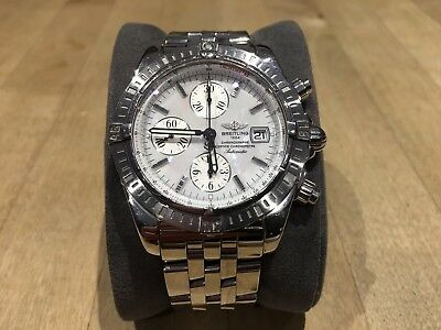 f57d9059a11 2007 BREITLING CHRONOMAT  EVOLUTION  A13356 MOP DIAL With box and papers