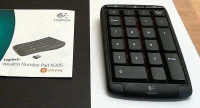 501ff85a67a LOGITECH WIRELESS NUMBER Pad N305 (Unifying USB receiver) - $95.00 ...
