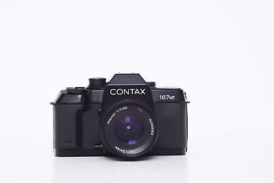 Contax 167mt with Carl Zeiss Planar 50mm f/1.7