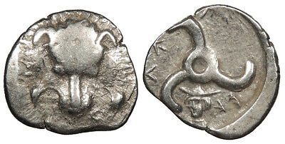 Dynasts of Lycia Perikles AR Tetrobol 390-375 B.C. Good Fine