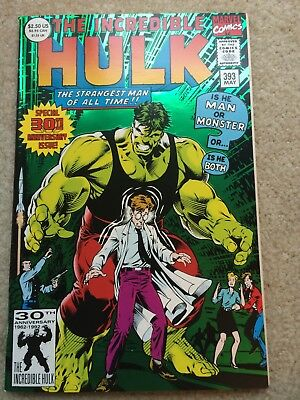 Incredible Hulk #393 *30th Anniversary Issue* *1st Print*