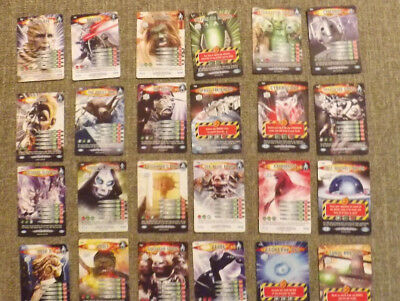 Lot of Doctor who Battles in Times 2006 Trading cards 24  EUC
