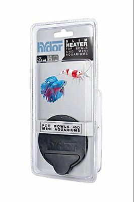 Hydor T20401 4W Slim Heater for Bowls & Mini Aquarium 1 to 2.5 Gallon