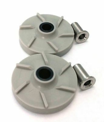 Combo Pack - 2 Impellers & 2 Bearing Sleeves Replaces Crathco 3587 & 3220 New