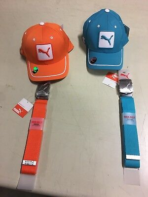 PUMA 2 Youth golf Hats With Belts