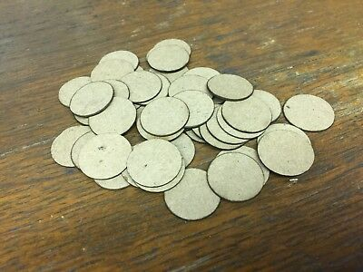 "100 New Cardboard Lifter Discs Disks for Player Piano Pouches 3/4"" x .028"" thick"