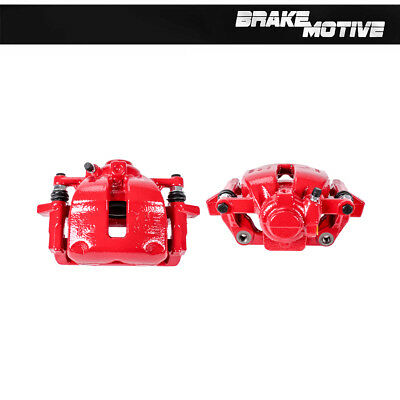 Rear Red Powder Coated Brake Caliper Pair For Lexus ES250 ES300 Toyota Camry