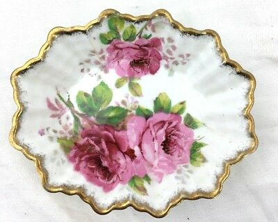 Royal Albert American Beauty Candy/Nut Bowl England Floral Pink
