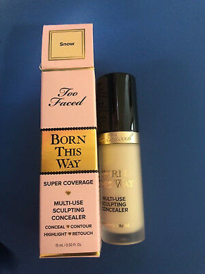 Too Faced Born This Way Multi-Use Sculpting Concealer- Message Me Shade Choice!!