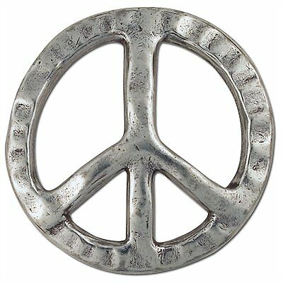 "Peace Sign Trophy Buckle (fits 1-1/2"" Belt) Tandy Leather 1770-26 Free Shipping"