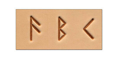 "Craftool 3/4"" (19mm) Runic / Celtic Stamp Set -Tandy Leather 8146-00 FREE SHIP!!"