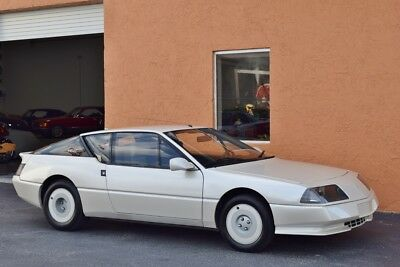 1984 Renault GTA Alpine V6 GT  MINT CONDITION - MUSEUM CAR- 1 of 54 BUILT - GTA V6  ALPINE - ONLY 17,000 MILES