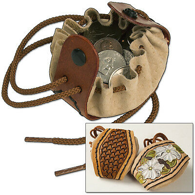 Drawstring Coin Pouch Kit - Tandy Leather 4071-00 - **FREE SHIPPING!!