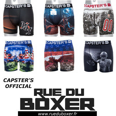 Capster's Official - Boxer Homme Microfibre