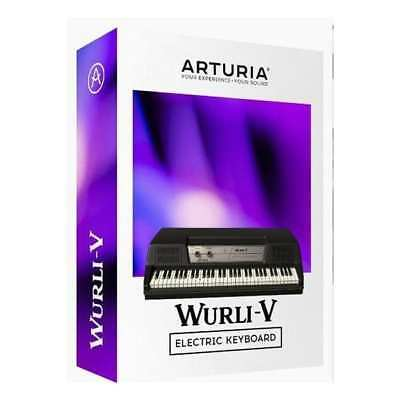 ARTURIA Wurli V2 License Wurlitzer V2 Electric Piano 24hrs E-Delivery!