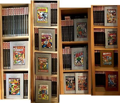 MARVEL MASTERWORKS - Huge Collection - First 214 Volumes, Mint Condition