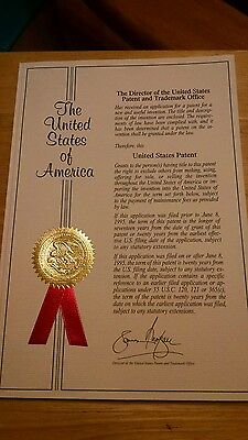 United States Patent for Sale / Patent No.US 6,557,611 B1 Security Window Screen