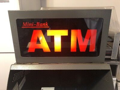 Mini-Bank 1000 Atm ~ Lighted Sign Topper
