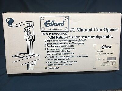Edlund - No. 1 Commercial Can Opener In Box For Restaurants Foodservice