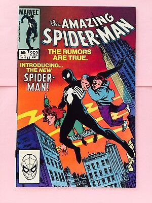 Amazing Spider-Man 252  First Appearance Of The Black Suit