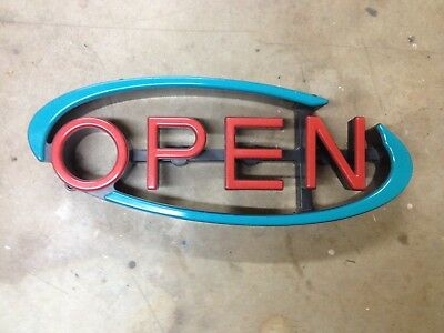 OPEN Sign Mystiglo Store Display LED
