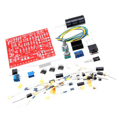 DC 0-30V Regulated Power Supply Kit with Short Circuit Current Limiting TA E8S0