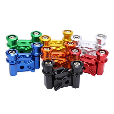 For 2013-2015 Kawasaki Ninja 300R Motorcycle Swing Arm Spool Adapters Aluminum