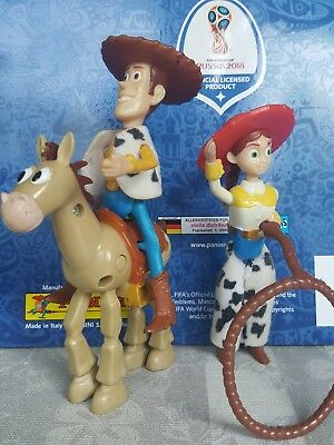 mc donals woody toy story mit bully und girl selten 90 j.