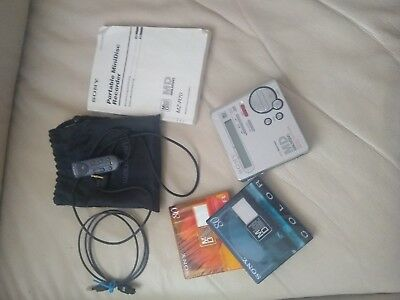 Sony MZ-R70 Portable Minidisc Recorder MD Walkman