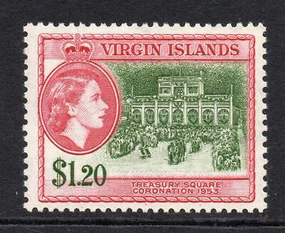 Virgin Islands 1.2o Dollar Stamp c1956-62  Mounted Mint (555)