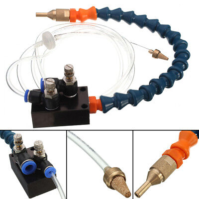 Mist Coolant Lubrication Spray System for 8mm CNC Pipe Lathe Mill Drill Machine