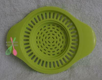 Tupperware Can or Jar Strainer  - Fits Small or Large Sized Cans- Lime - New